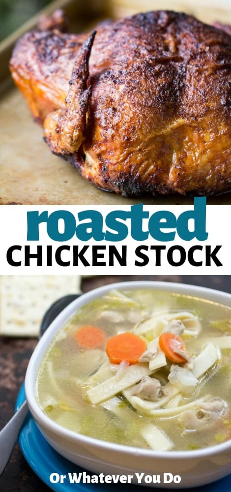 Roasted Chicken Stock