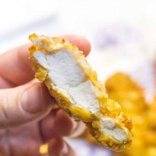 Easy Homemade Chicken Tenders
