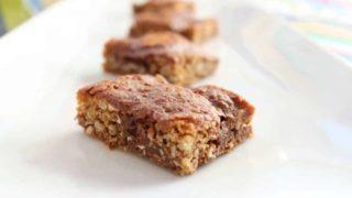 Oatmeal Chocolate cookie bars