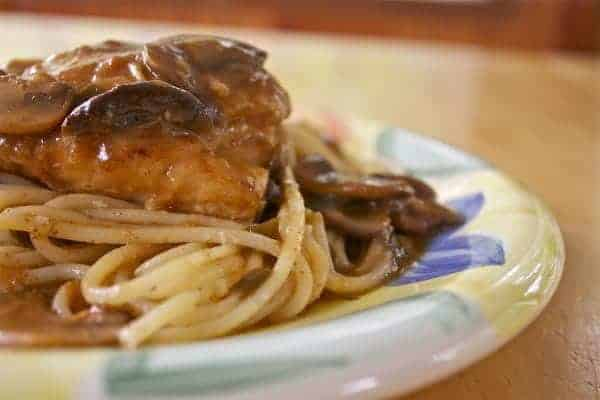 Chicken Marsala from OrWhateverYouDo.com