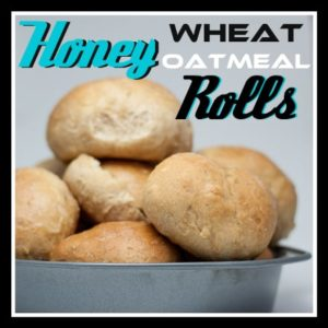Honey Wheat Oatmeal Rolls from OrWhateverYouDo.com
