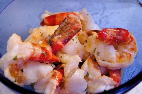 Jumbo Shrimp Scampi from OrWhateverYouDo.com
