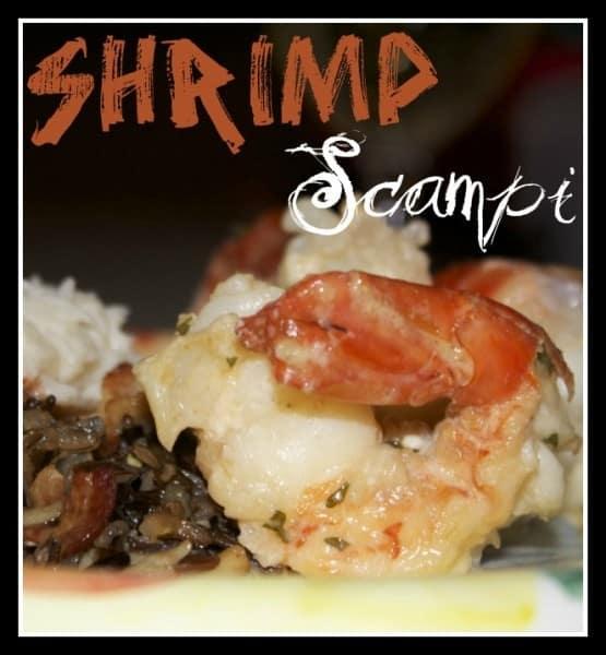 Jumbo Shrimp Scampi from OrWhateverYouDo.com