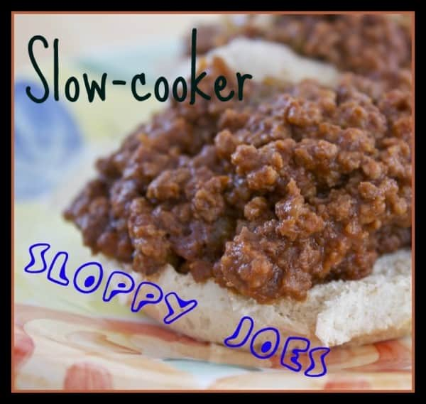 Slow Cooker Sloppy Joes » Or Whatever You Do