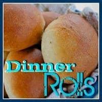 Simple Dinner Rolls