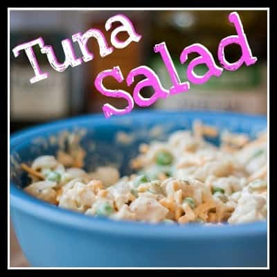Tuna Salad from OrWhateverYouDo.com