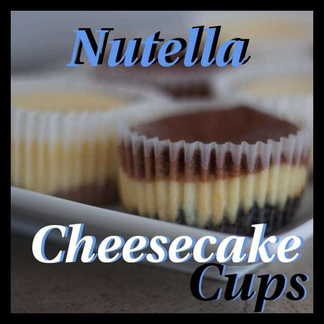 Nutella Cheesecake Cups