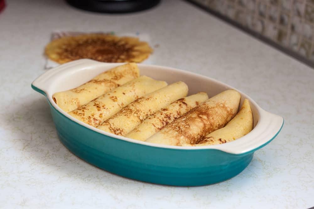 Corn Crepes Recipe