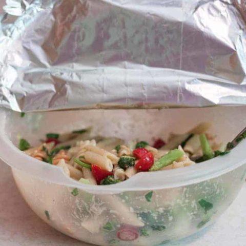 Summer Pasta Salad Florentine