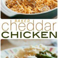 Baked Cheddar Chicken