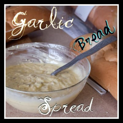 Garlic Bread Spread Pinterest