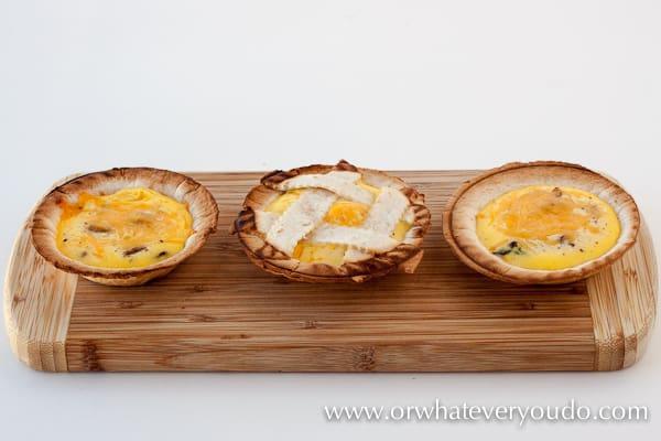 Mini Quiche in your Breville Mini Pie Maker