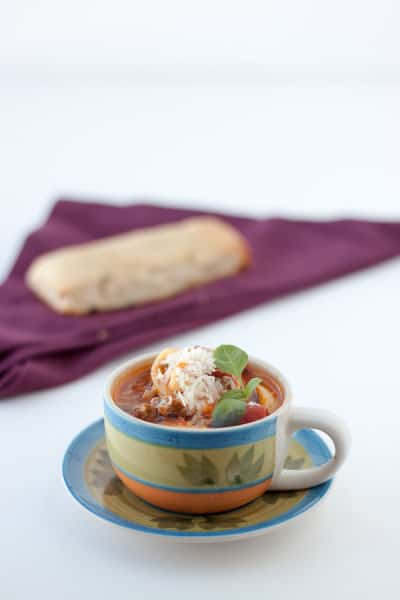 Tortellini Soup from OrWhateverYouDo.com
