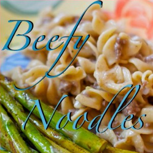 Beefy Noodles from OrWhateverYouDo.com