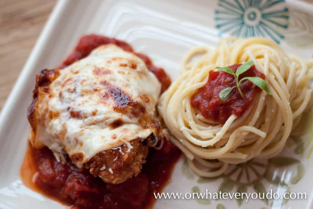 Homemade Chicken Parmesan