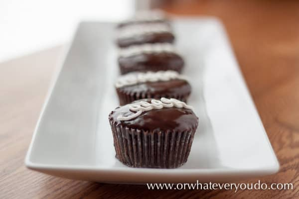 Scratch Hostess Cupcakes from OrWhateveverYouDo.com
