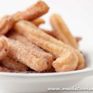 Homemade Churros Recipe with Cinnamon Sugar