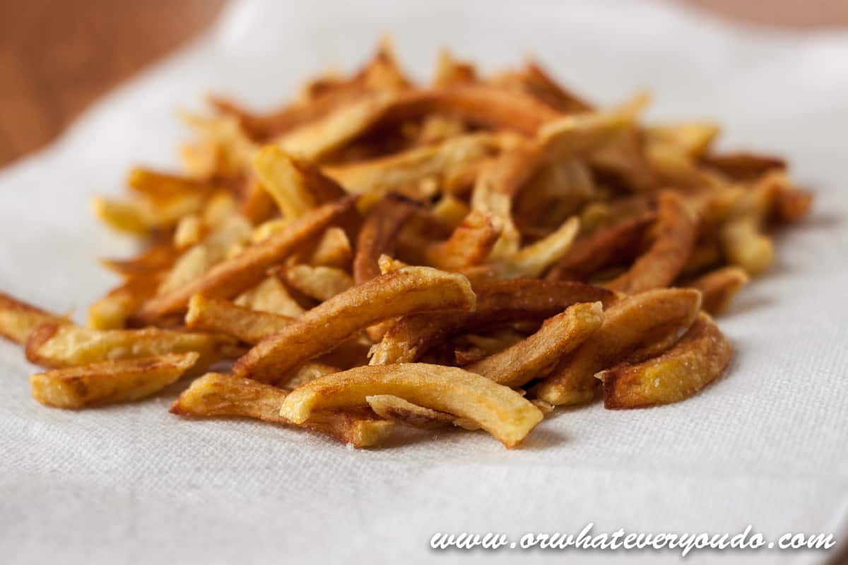 how to make delicious homemade fries