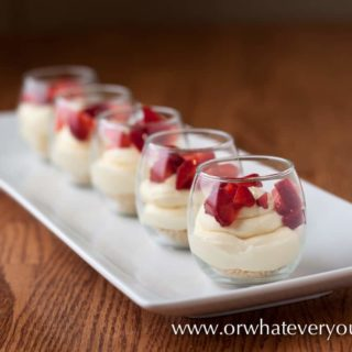 No Bake cheesecake from OrWhateverYouDo.com