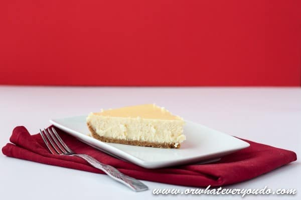 Vanilla Cheesecake