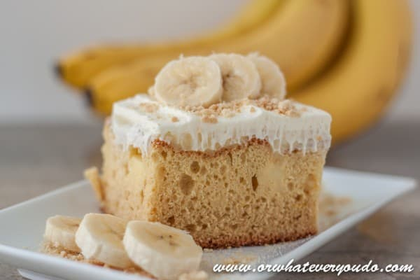 Banana Fo Fanna Pudding Cake