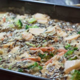Creamy Chicken Wild Rice Casserole