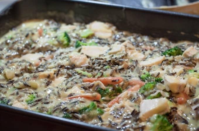 Creamy Chicken Wild Rice Casserole