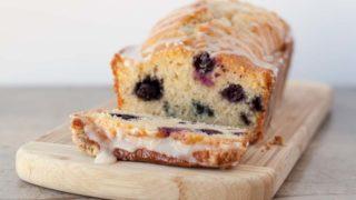 Meyer Lemon Blueberry Bread