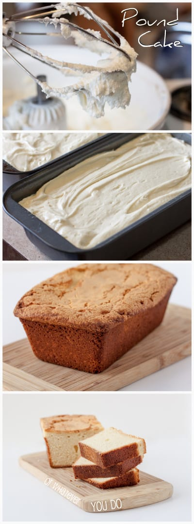 Cream Cheese Pound Cake from OrWhateverYouDo.com