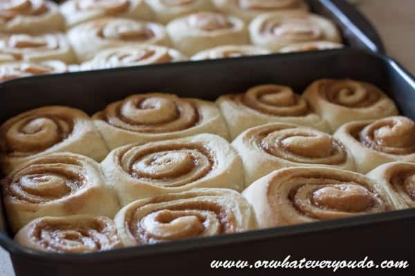 Caramel Rolls from OrWhateverYouDO.com
