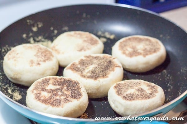 English Muffins from OrWhateverYouDo.com