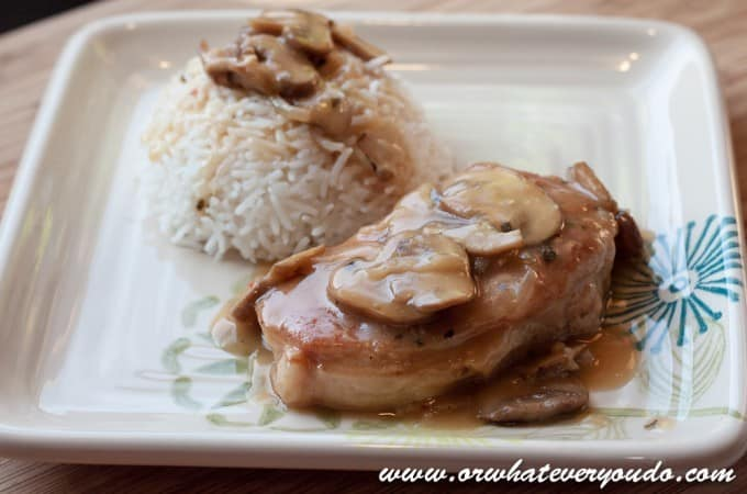 Baked Pork Chops with Pan Gravy