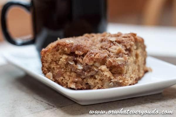 Apple Cinnamon Streusel Coffee Cake-10