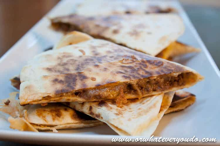 Simple Beef Quesadillas Or Whatever You Do
