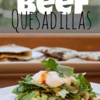 Simple Beef Quesadillas