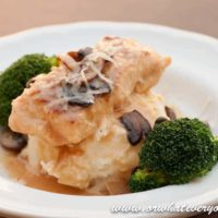 Asiago Chicken Marsala