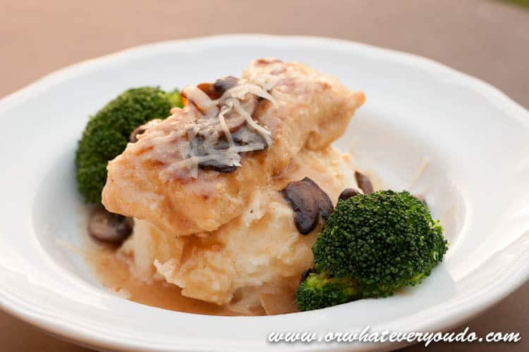 Creamy Asiago Chicken Marsala