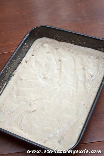 Banana Crumb Cake OWYD-7