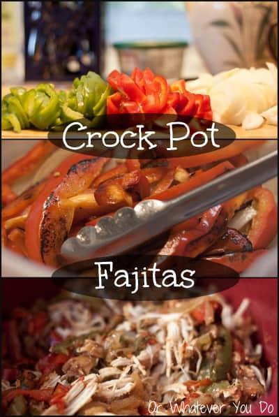 Easy Crockpot Chicken Fajitas Or Whatever You Do
