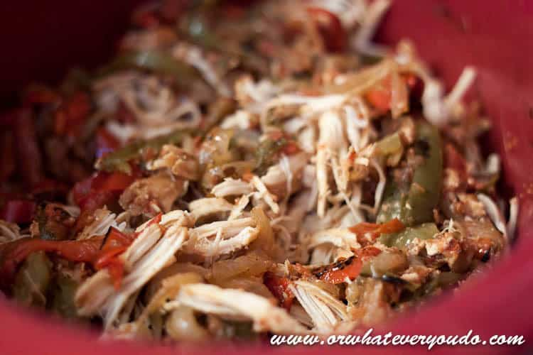 Slow Cooker Fajita Chicken-12
