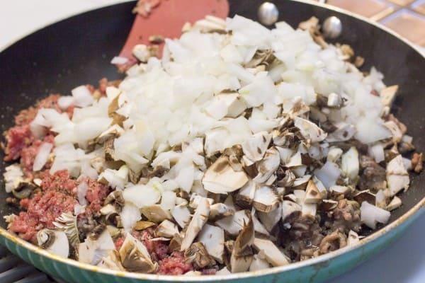 Beef & Mushroom Ravioli I www.orwhateveryoudo.com I #recipe #food #cooking #scratch