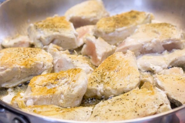 Chicken Wild Rice Orzo I www.orwhateveryoudo.com I #recipe #dinner #skillet