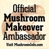 MushroomMakeover Ambassador Badge