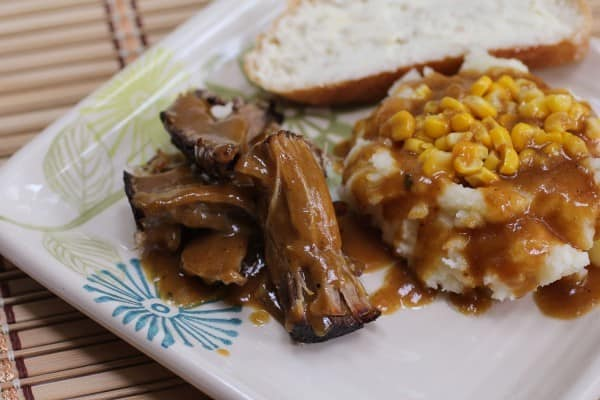 Pork Roast with Gravy I www.orwhateveryoudo.com I #pork #roast #gravy #recipe #winter #comfort_food