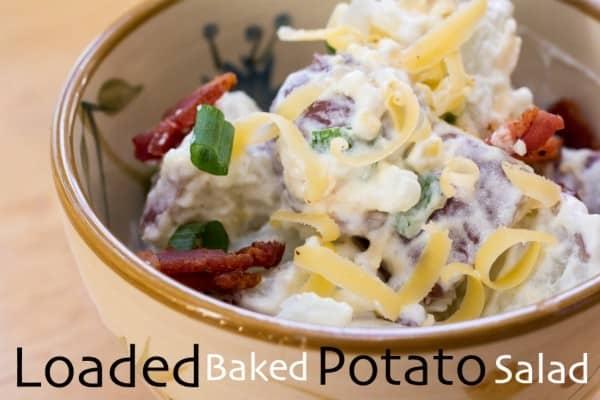 Loaded Baked Potato Salad Slider