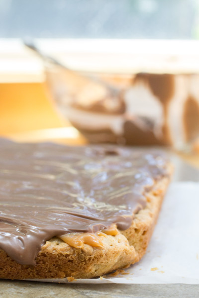 Oatmeal Caramel Chocoley Cookie Bars