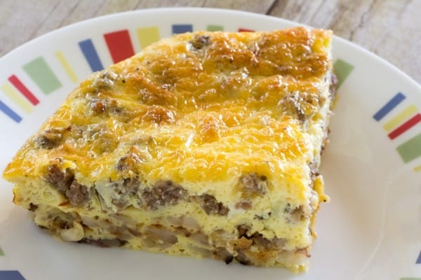 Sausage Egg Bake