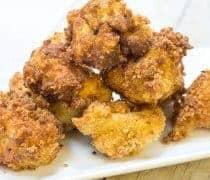 Breaded Fried Cauliflower Recipe
