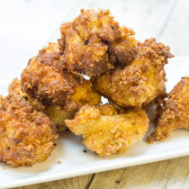 Breaded Fried Cauliflower