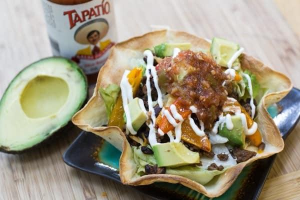 Fajitarrito Salad